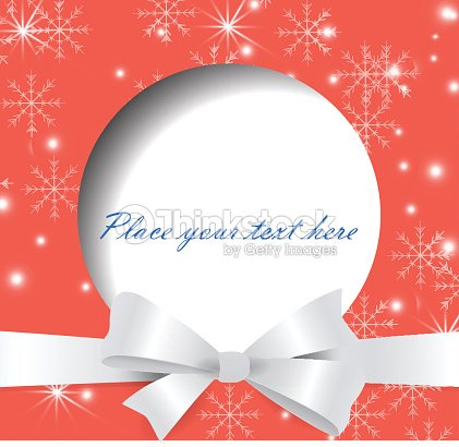 Christmas And New Year Greeting Card Vector Illustration Background ...