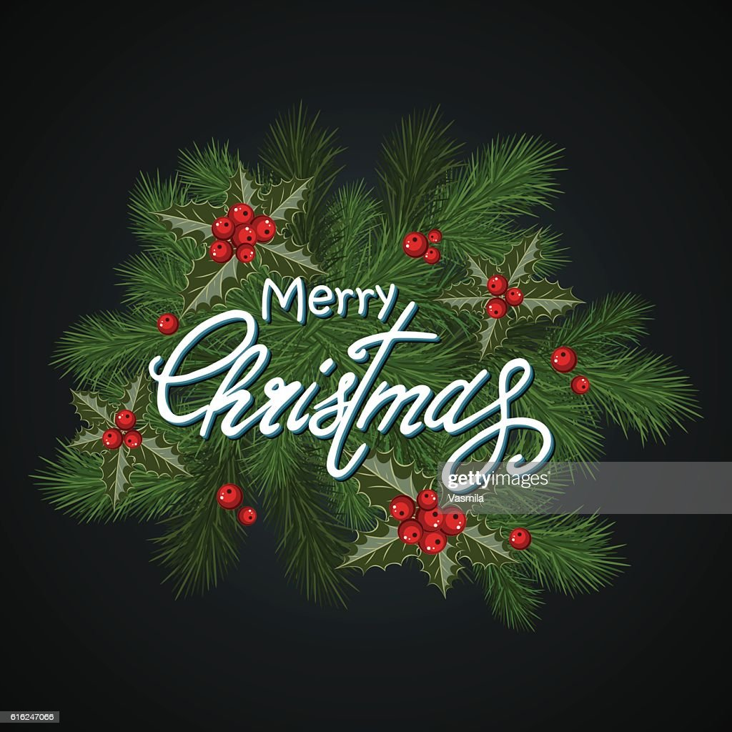 Christmas background dark : Arte vectorial