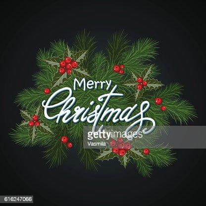 Christmas background dark : Arte vetorial
