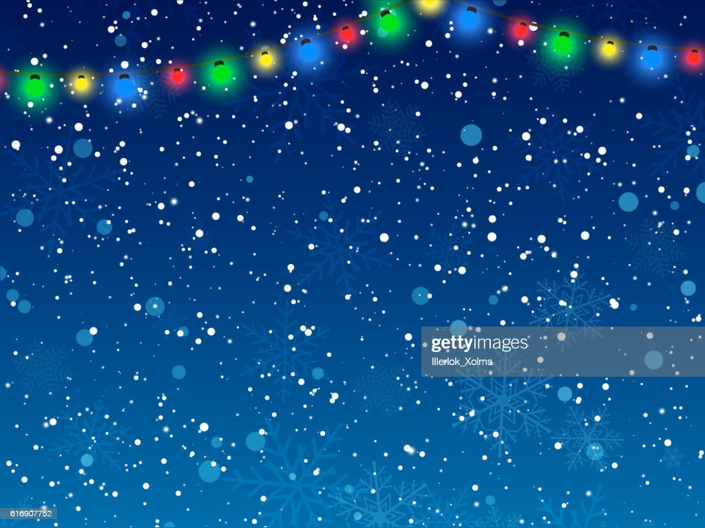 Christmas background. Happy new Year. Vector illustration. : Vector Art