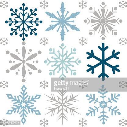 Fondo con diseño de Navidad copo de nieve : Arte vectorial