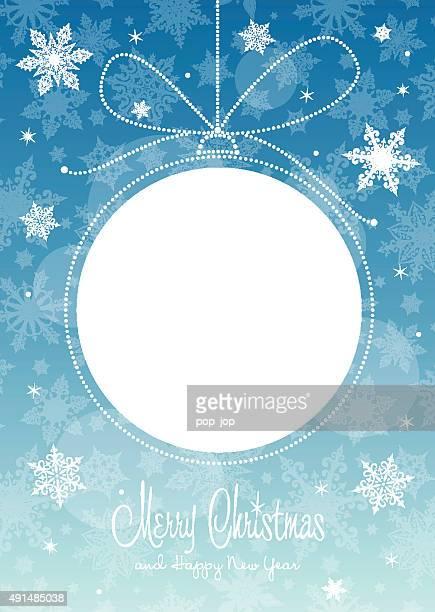 Christmas ball - greeting card