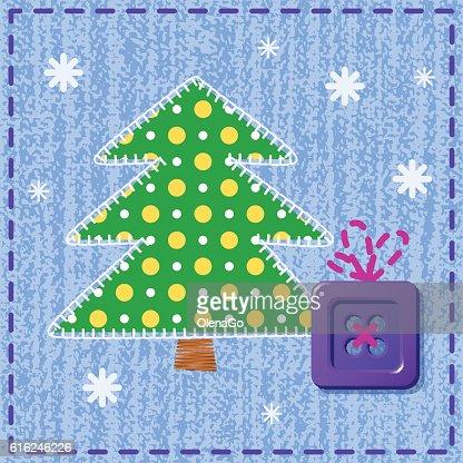 Cartão de Natal : Arte vetorial