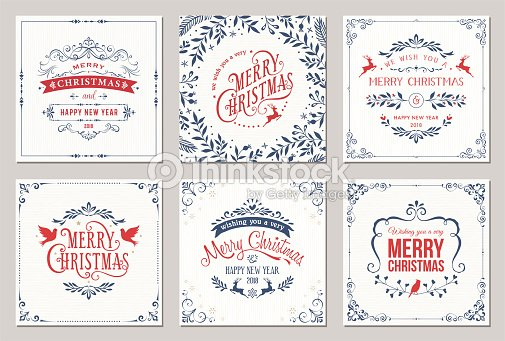 Christmas Cards : stock vector