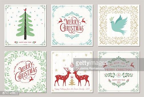 Cards_05 de Navidad : Arte vectorial