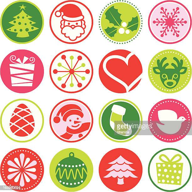 Christmas - Circle Icons / Seals