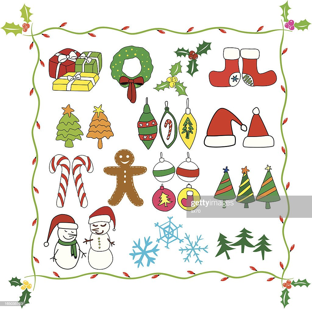 christmas clipart vector - photo #7