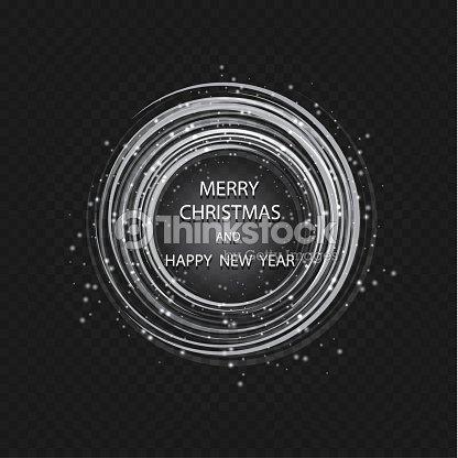 Weihnachten Grußkartenleichte Vektor Hintergrund Frohe Weihnachten ...