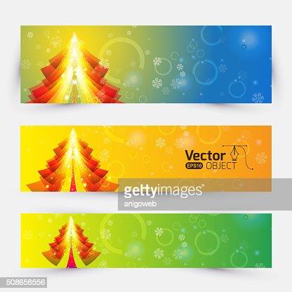 Christmas Greeting Card. Merry Christmas lettering : Vector Art