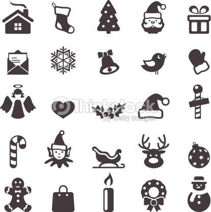 weihnachtssymbole vektorgrafik thinkstock. Black Bedroom Furniture Sets. Home Design Ideas