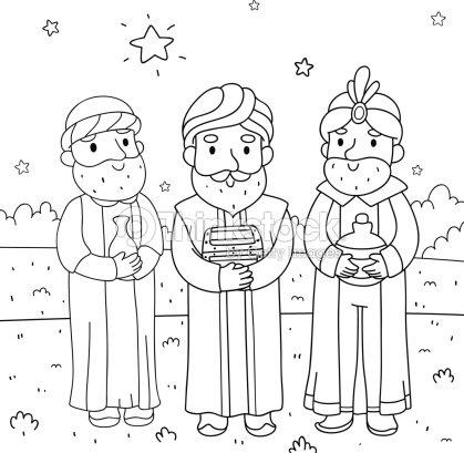 Illustration De No 235 L Des Trois Sages Clipart Vectoriel