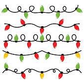 Christmas string lights for holidays