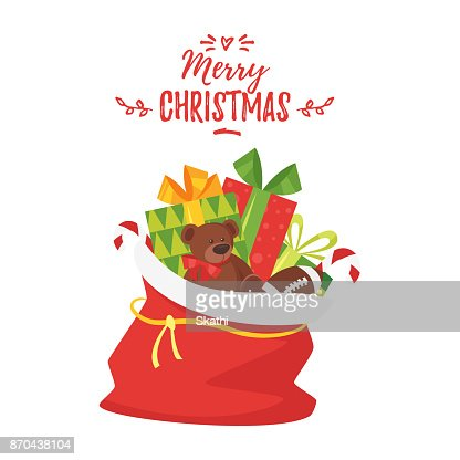 Christmas New Year greeting card : stock vector