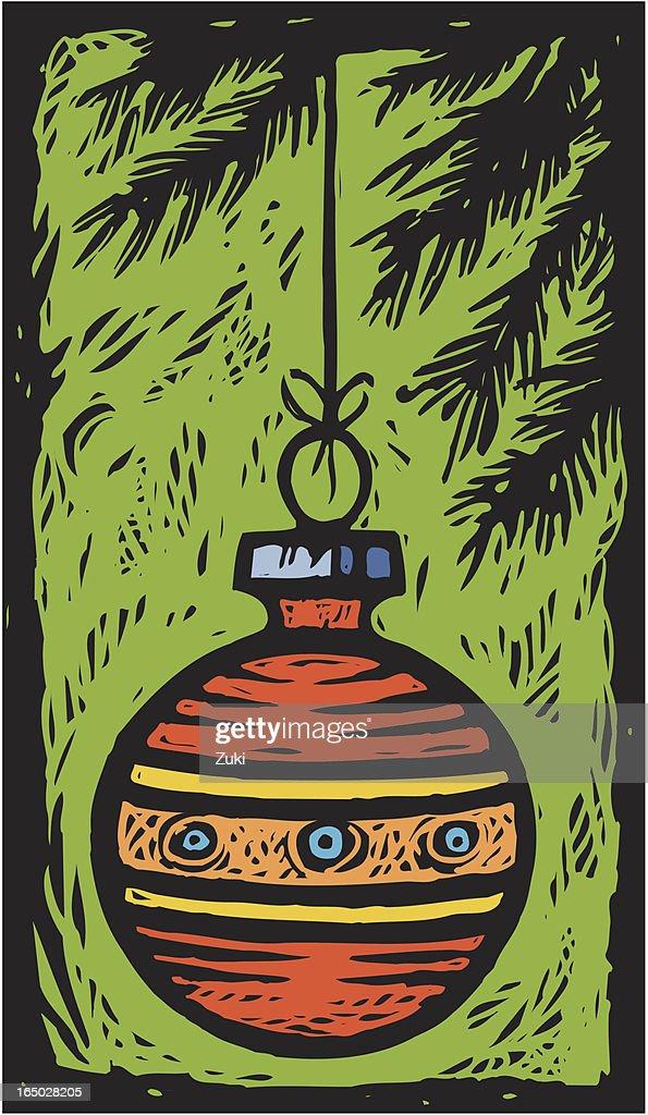 Christmas Ornament : Vector Art