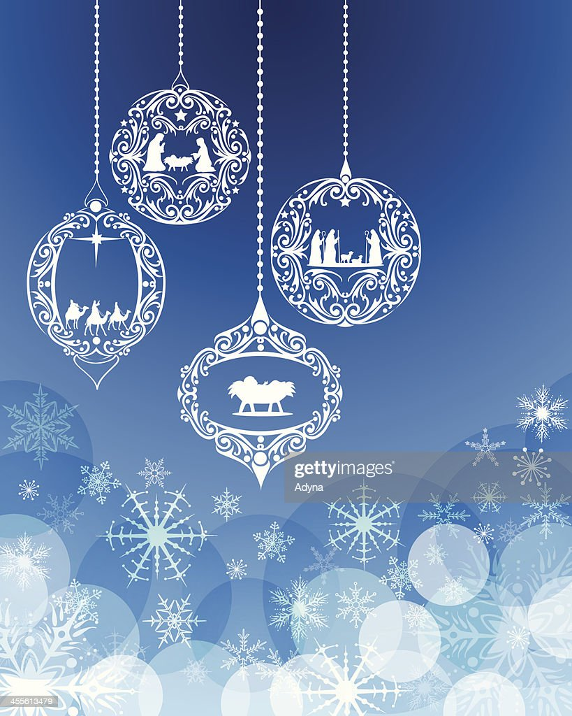 Christmas Ornament Vector Art | Getty Images