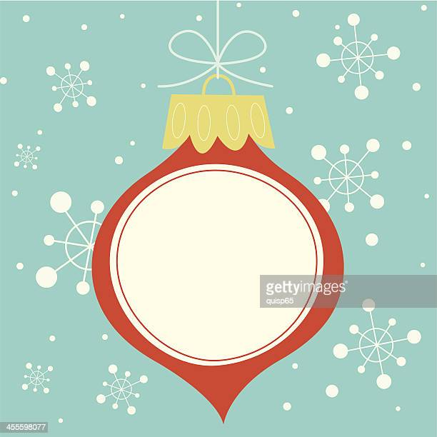 Christmas Ornament with Copy Space