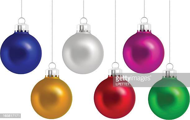 Christmas Ornaments - Vector Illustration