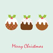 Christmas Pudding EPS 10 & HI-RES JPG Included