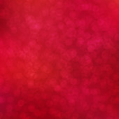 Christmas red abstract background. New Year holiday vector design with bokeh lights