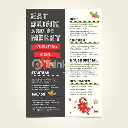 Christmas restaurant and party menu invitation vector art thinkstock christmas restaurant and party menu invitation vector art stopboris Choice Image