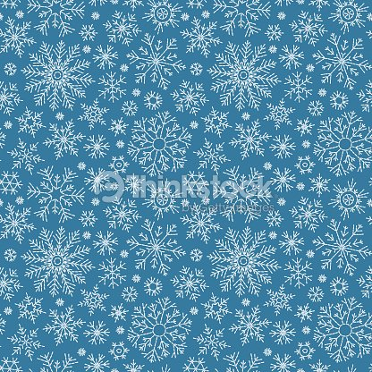 Christmas seamless doodle pattern : stock vector