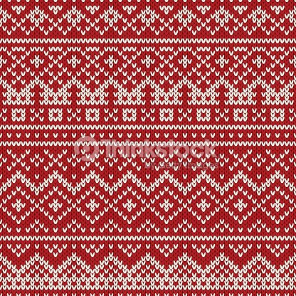 32d49868e Christmas Sweater Design Seamless Holiday Knitted Pattern stock ...
