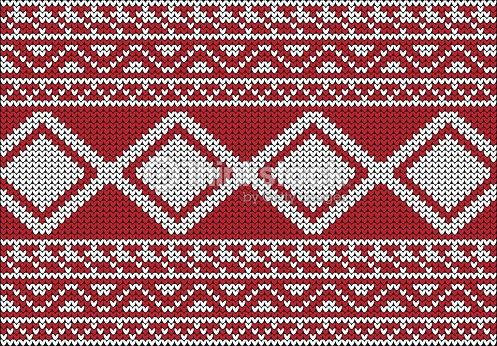 ac3023790 Christmas Sweater Design Seamless Pattern stock vector