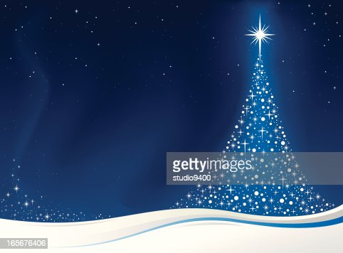 christmas tree card vector art getty images - Christmas Tree Card
