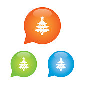 Christmas Tree Marker Icon
