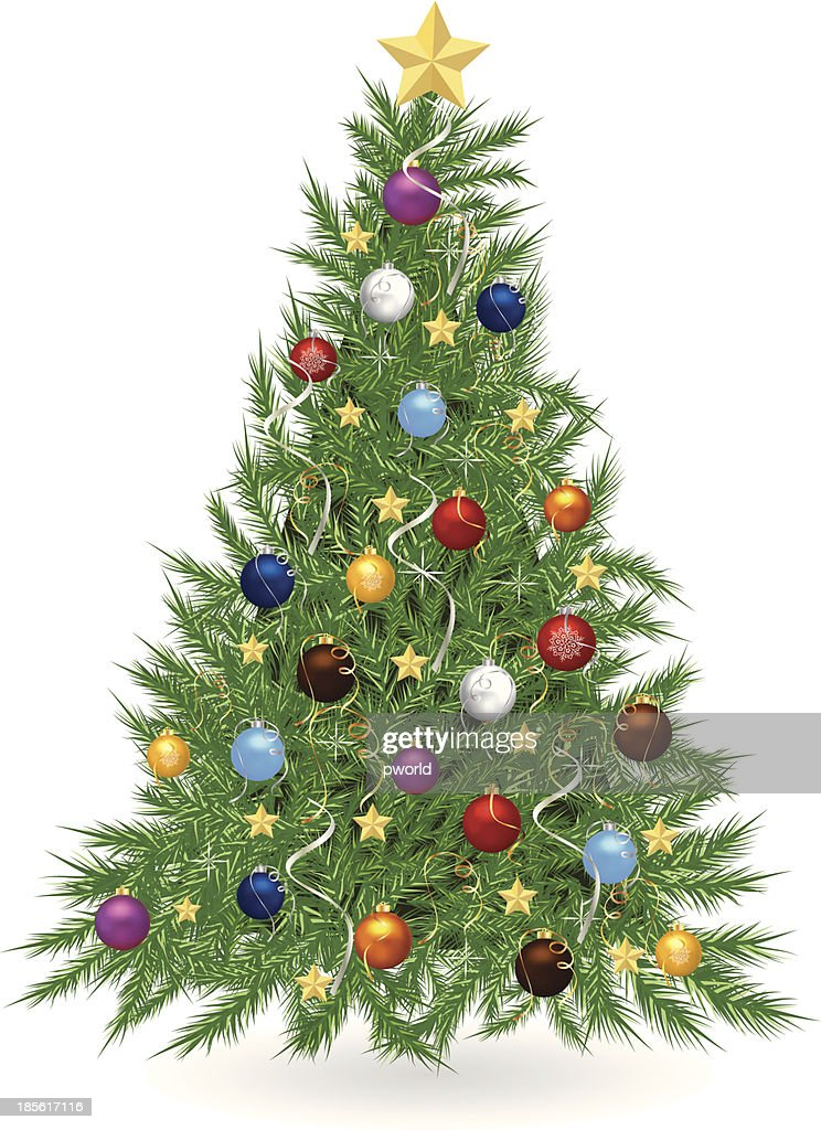 Christmas tree . : Vector Art