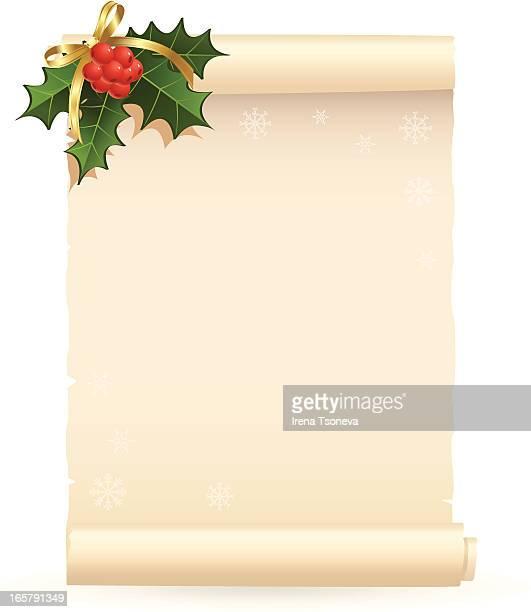 La liste de souhaits de Noël