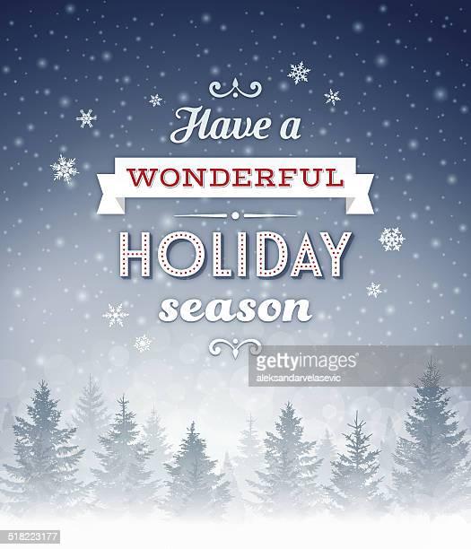 Christmas-Holiday Background