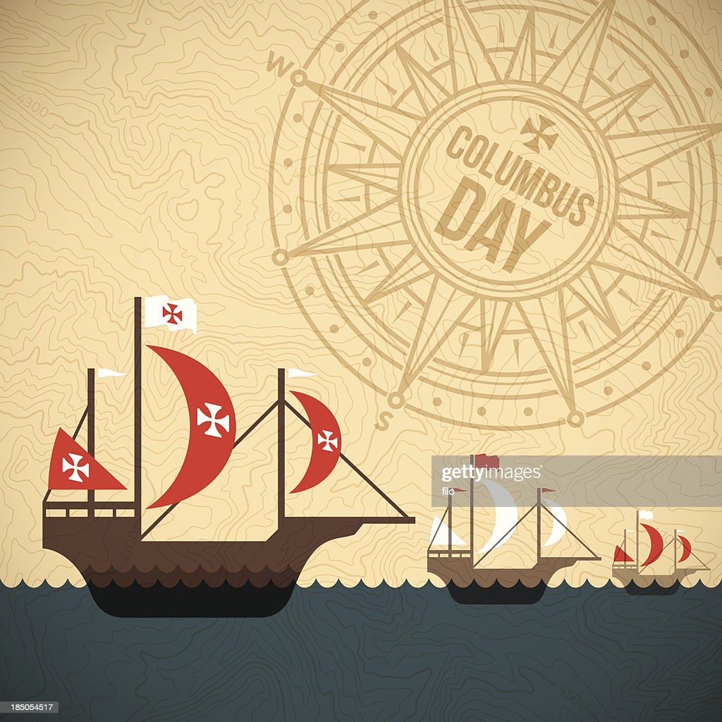 christopher columbus day vector art getty images
