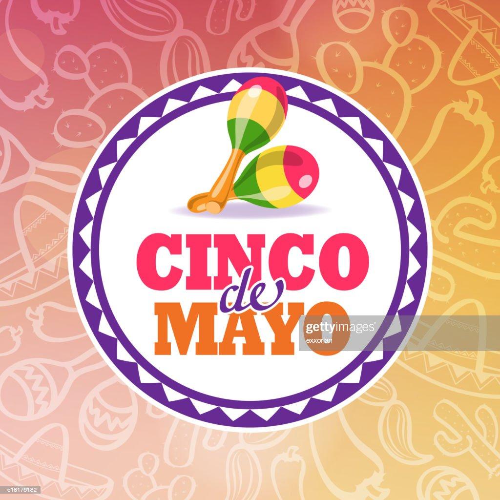 Cinco De Mayo Maracas Symbol Vector Art | Getty Images