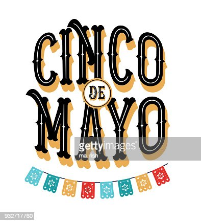 Cinco De Mayo May 5 Federal Holiday In Mexico Fiesta Banner And Poster