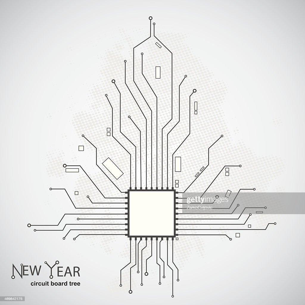 Circuit Pattern Art - Wiring Data