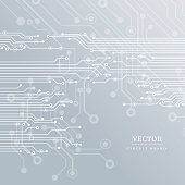 Circuit board, technology background. Vector illustration EPS 10