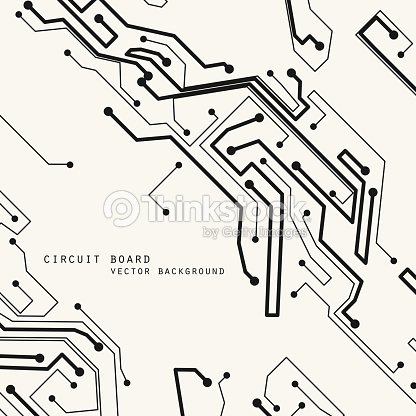 Circuit Board Vector Background Technology Illustration Eps10 Vector ...