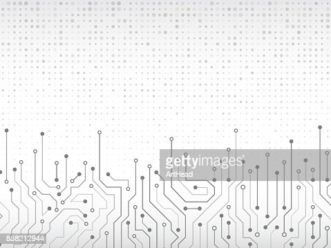 Circuit board vector illustration. : Arte vetorial
