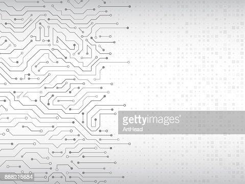 Circuit board vector illustration. : stock vector
