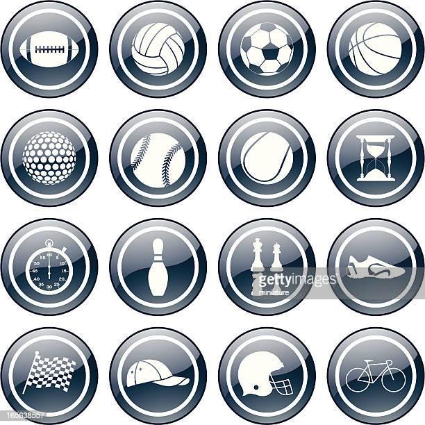 circular sport icons