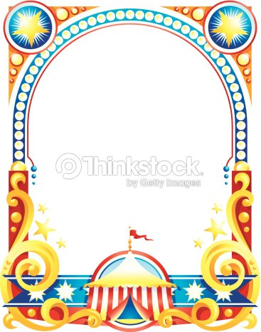 Circus Poster Frame C Vector Art | Thinkstock