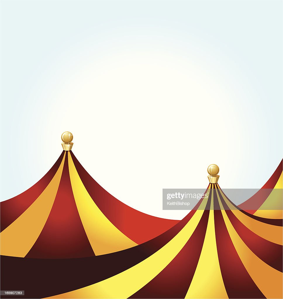 Circus Tent Background Vector Art | Getty Images