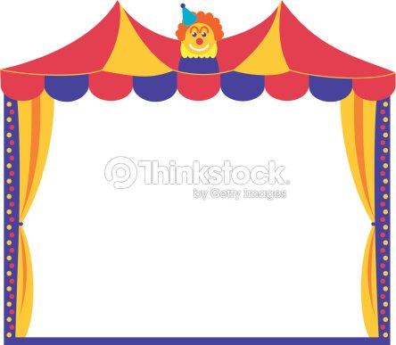 Circus Tent Frame Vector Art | Thinkstock