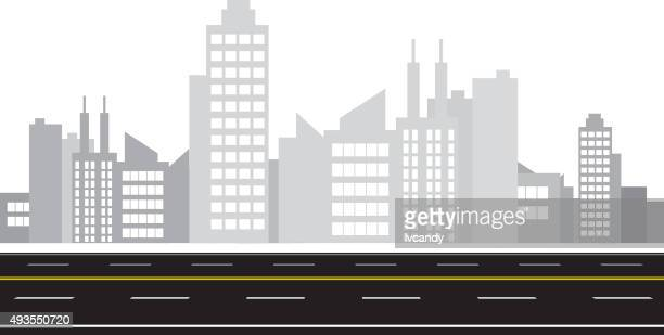City and road