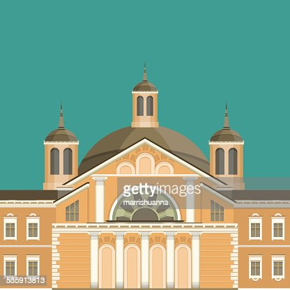Edificio de la ciudad : Arte vectorial