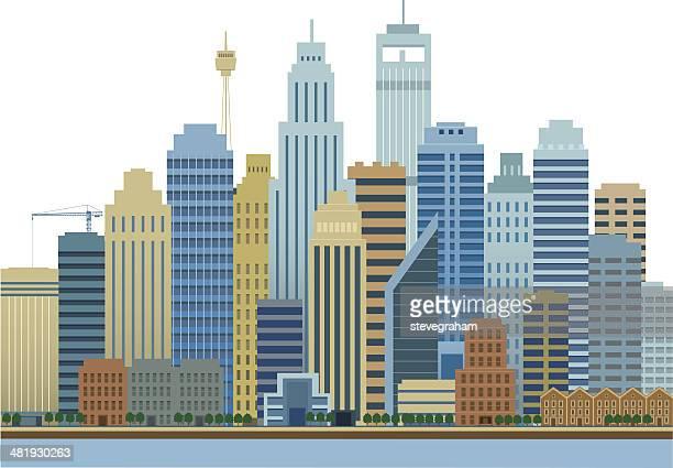 City Buildings and Skyline