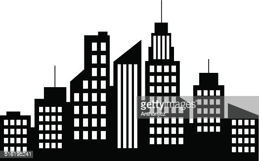 City Icon Vector Art | Getty Images