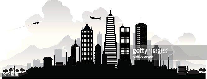 Horizonte de la ciudad : Arte vectorial