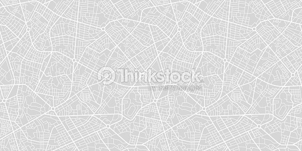 City Street Map : stock vector
